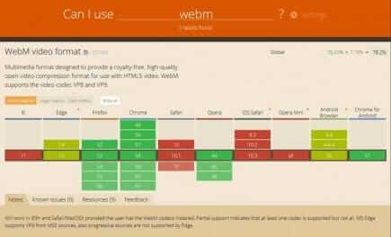 Can I use WebM