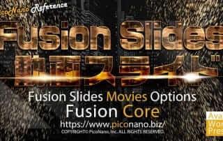 Fusion Slider 動画スライドオプション