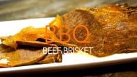 牛のブリスケット バーベキュー風味