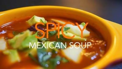 スパイシーメキシカンスープ