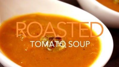 焼きトマトのスープ