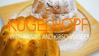 ケーキのようなパン クーゲルホップフ
